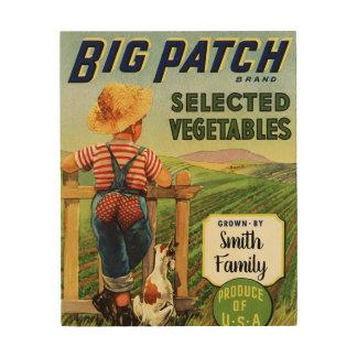 USA Grown Veggies Poster