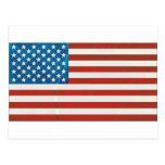 USA grunge flag Cartões Postais