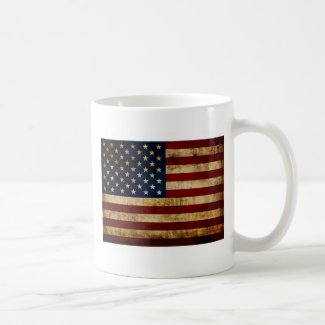 USA / Grunge Flag Coffee Mug