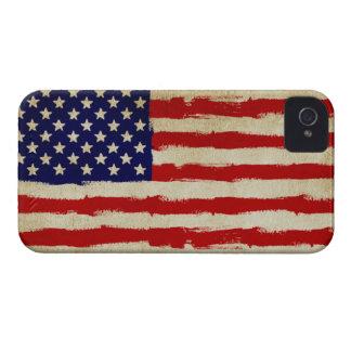 USA Grunge Flag iPhone 4 Case