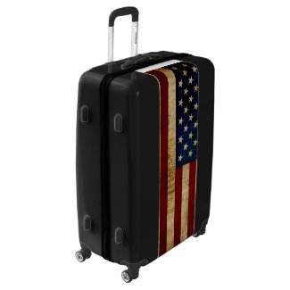 USA / Grunge flag Luggage