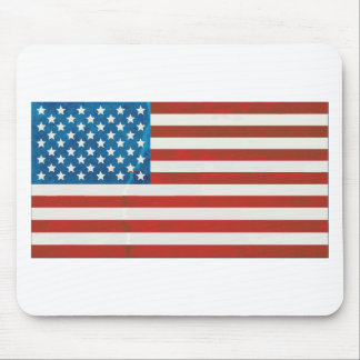 USA grunge flag Mouse Pad