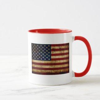 USA / Grunge flag Mug