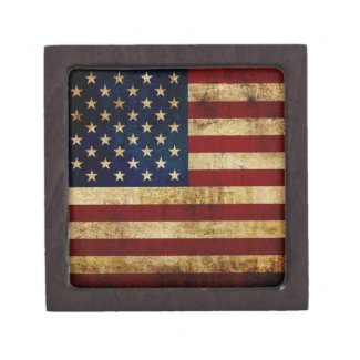 USA / Grunge Gift Box