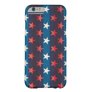 USA grunge patriotic vintage stars Barely There iPhone 6 Case