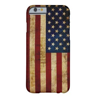 USA / Grunged Flag Barely There iPhone 6 Case