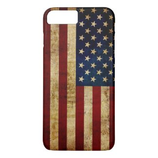 USA / Grunged Flag iPhone 8 Plus/7 Plus Case