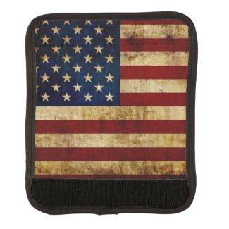 USA / Grunged Flag Handle Wrap