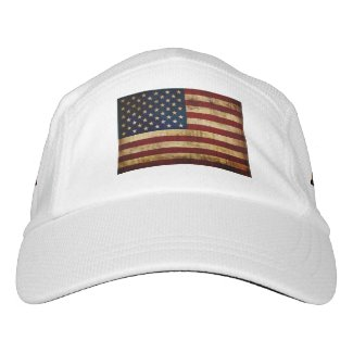 USA / Grunged Flag... Hat