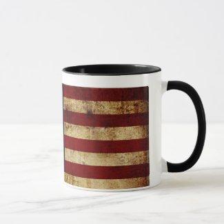 USA / Grunged Flag Mug
