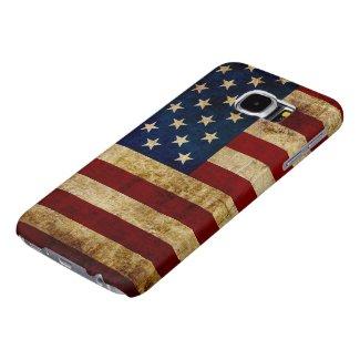 USA / Grunged Flag Samsung Galaxy S6 Case
