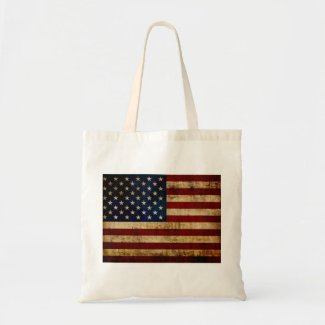 USA / Grunged Flag