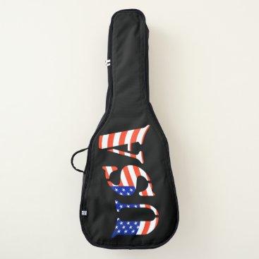 USA Themed USA GUITAR BAG