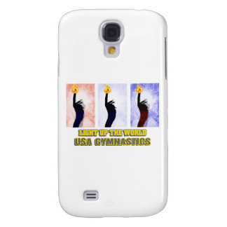 USA Gymnastics - Light Up The World Samsung Galaxy S4 Case