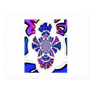 USA Hakuna Matata Blue Gifts.png Postcard