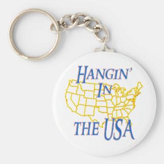 USA - Hangin' Keychain
