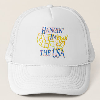 USA - Hangin' Trucker Hat