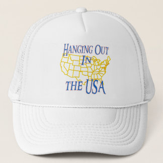 USA - Hanging Out Trucker Hat
