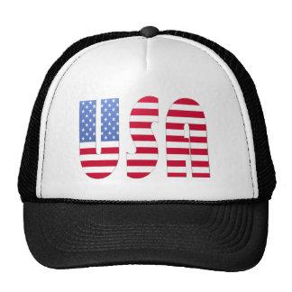 USA TRUCKER HATS