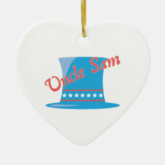 USA Hat Uncle Sam Christmas Ornaments