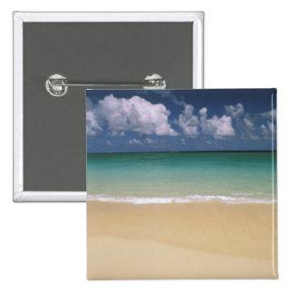 USA, Hawaii. Beach scene Button
