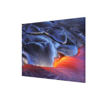 USA, Hawaii, Big Island, Kilauea, Volcanoes NP, Canvas Print