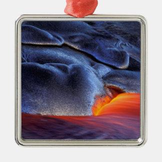USA, Hawaii, Big Island, Kilauea, Volcanoes NP, Metal Ornament