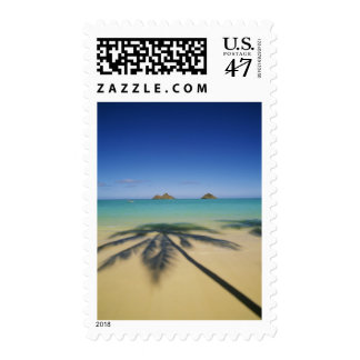 USA, Hawaii, Kailua. Lanikai Beach. Postage