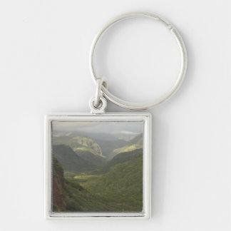 USA, Hawaii, Kauai, Canyon overlook. (RF) Keychain