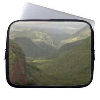 USA, Hawaii, Kauai, Canyon overlook. (RF) Laptop Sleeve