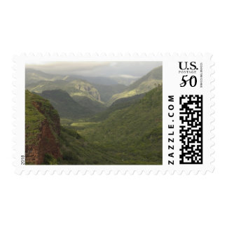 USA, Hawaii, Kauai, Canyon overlook. (RF) Postage