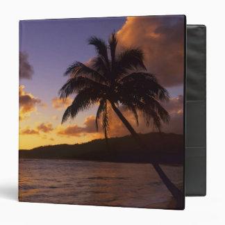 USA, Hawaii, Kauai, Colorful sunrise in a 2 Binder
