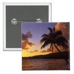 USA, Hawaii, Kauai, Colorful sunrise in a 2 2 Inch Square Button
