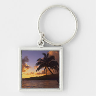 USA, Hawaii, Kauai, Colorful sunrise in a 2 Keychain