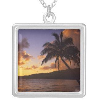 USA, Hawaii, Kauai, Colorful sunrise in a 2 Pendants