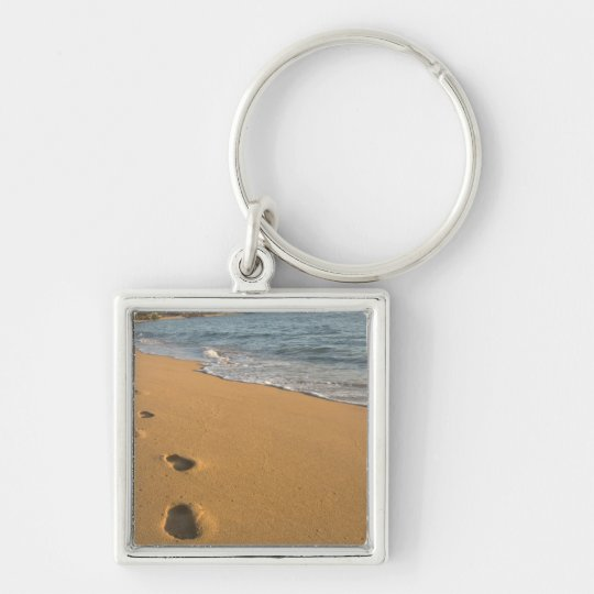 USA, Hawaii, Kauai, Kapa'a, beachfront. RF) Keychain
