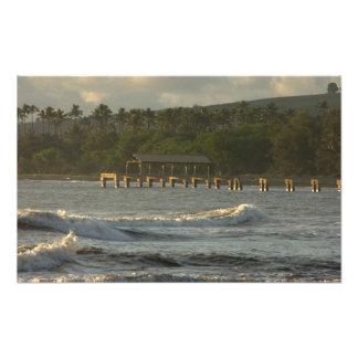 USA, Hawaii, Kauai, southwest coast, near Photo Print