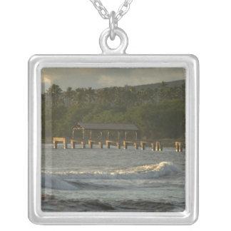 USA, Hawaii, Kauai, southwest coast, near Silver Plated Necklace