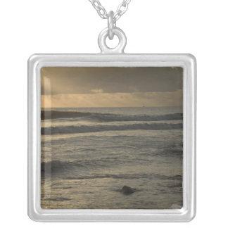 USA, Hawaii, Kauai, southwest coast, near Waimea 2 Silver Plated Necklace