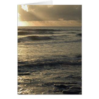 USA, Hawaii, Kauai, southwest coast, near Waimea Card