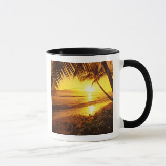 USA, Hawaii, Maui, Colorful sunset in a 2 Mug