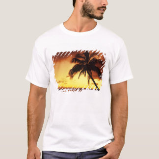USA, Hawaii, Maui, Colorful sunset in a T-Shirt