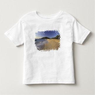 USA, Hawaii, Maui, Footprints in sand, Makena Toddler T-shirt