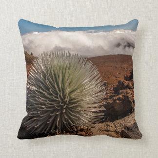 USA, Hawaii, Maui, Haleakala National Park Throw Pillow
