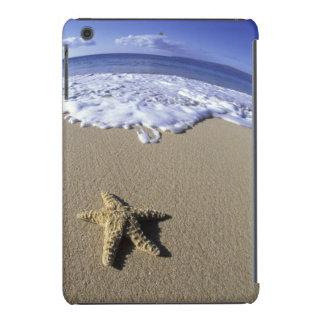 USA, Hawaii, Maui, Makena Beach, Starfish and iPad Mini Cases