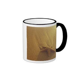 USA, Hawaii, Maui, Maui, Kihei, Starfish and 2 Ringer Coffee Mug