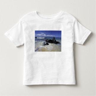 USA, Hawaii, Maui, Maui, Makena Beach, Surf on Toddler T-shirt