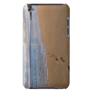 USA, Hawaii, Maui, Wailea, footprints on beach 2 iPod Touch Case-Mate Case