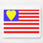 ⅠUSA heart-2 Mousepad