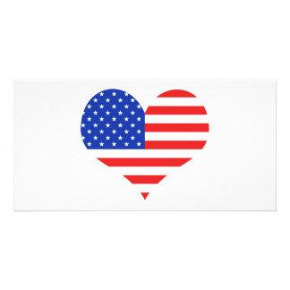 USA Heart Card